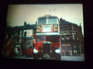 A Red Bus, Jack Cardiff, 'The Green Girdle'